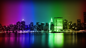 Manhattan Skyline [Wallpaper Pack] by JS92