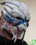 Garrus mask by FraGatsu