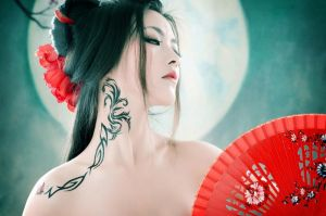 Asian Neoclasscial 3- Beauty Under the Moon by OrchidPhotography