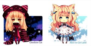 Alice in catland adoptable closed by Maruuki