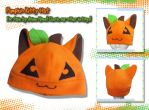 NEW Halloween Pumpkin Kitty by AnimeNomNoms