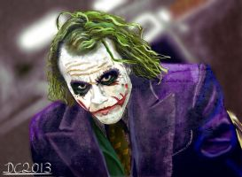The Joker by David-c2011