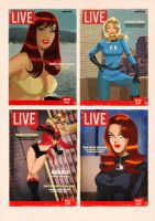 LIVE Marvel girls by DESPOP