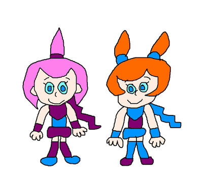 Kat and Ana from Warioware, Inc. - Mega Microgame$ by MikeEddyAdmirer89