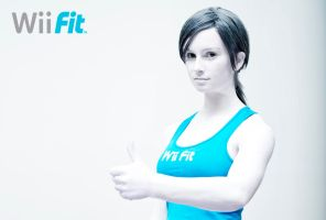 Talk Shit, Get Fit - Wii Fit Trainer 3 by HayleyElise