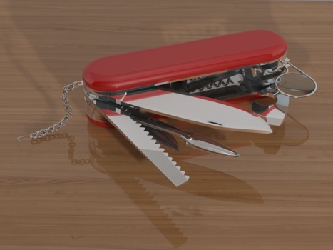 Swiss Army Knife by CaptainScratch