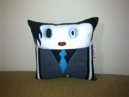 Handmade Celebrity Marilyn Manson Plush Pillow by RbitencourtUSA