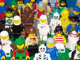 Lego-People by halley