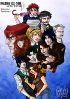 ICLW the whole cast by Estherrulez