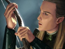 Legolas by Paperwick