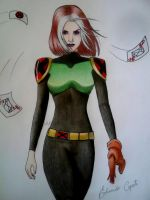 Rogue - X-men Evolution by EduardoCopati