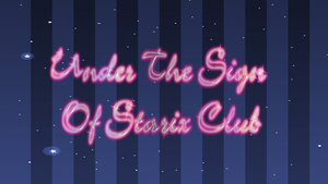 Chapter 10 Under The Sign Of Starix Club by Wizplace