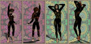 Freebie for Poser and DAZStudio for Second Skins by FractalBee