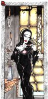 Morticia Addams by Sailor-Clover