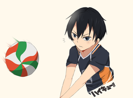 Kageyama-kun again by Kokoruuu