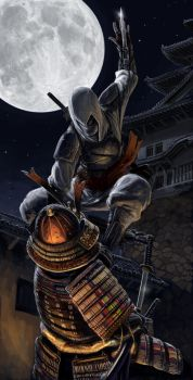 Japanese Assassin's Creed by Txikimorin