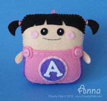 Boo Boo Girl Pouchy Pal by PouchyPals