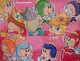 |Request|Princess Tea Party by SuperBabyPeach