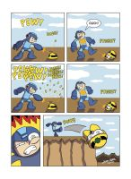 Despondent Mega Man - The Metal by JesseDuRona