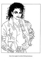 Moonwalker Coloring Book by idolhands