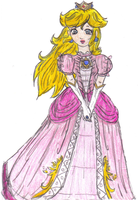 Princess Peach -bara no kaze- by Jago-Mizukami