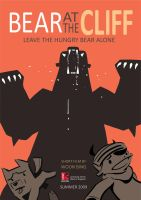 Bear at the Cliff: Poster by katzai