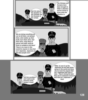 The World War 2 Saga Chap 27 Page 128 b and w by mamc1986