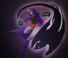 Raven (Teen Titans) by Rozen-Clowd