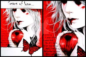Scars of love... by Hollow-Moon-Art