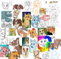 iscribble stuffs by RakuHund