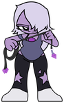 Steven Universe - MINI Amethyst by Rainheart94