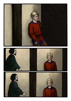 Vikings fan comic page one by Miagola