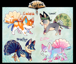 Animal Batch (+ re-auct) /AUCTION CLOSED! by Belliko-art