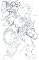 Blastgreymon by neoarchangemon