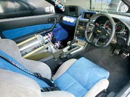 2fast 2furious nissan interior by stigspeed60