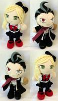 Commission, Mini Dangan Ronpa Plushies by ThePlushieLady