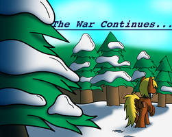 The War Continues by BelgianWaffleArt