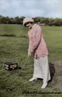 Miss Lily Elsie is golfing by MemoriesOfTime97