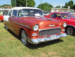 1955 Chevy Belair by Mister-Lou