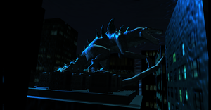 MMD Newcomer Zilla + DL by Valforwing