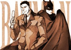 COMMISSION - The Batman: the Animated Series by pandabaka