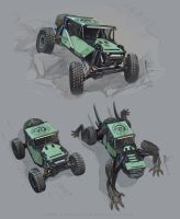 RockRacer sketches by Hydrothrax