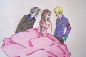 William,Claire and Ivan by ClaireMaeda