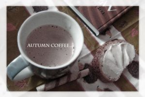 ...Autumn Coffee... by Lavenderwitch