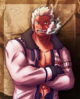 Captain Smoker +One Piece+ by leomon32