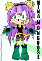 Mina Mongoose by Hazeleyed487