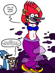 Commission for Timon-o-rama - Margaret The Genie by theEyZmaster