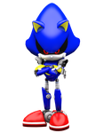 The Original Rival Metal Sonic by NIBROCrock