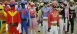 Super Sentai Parade by AncientWisemon
