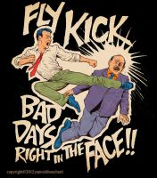 Fly kick bad days right in the face!! by YannickBouchard